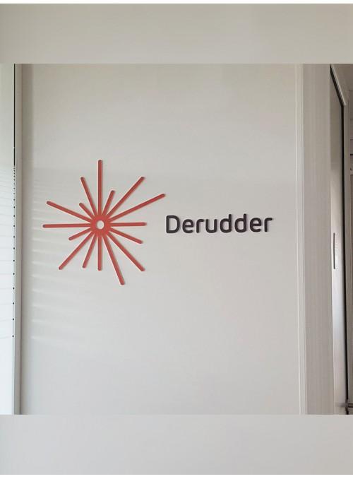 DERUDDER - signalétique intérieure sur-mesure