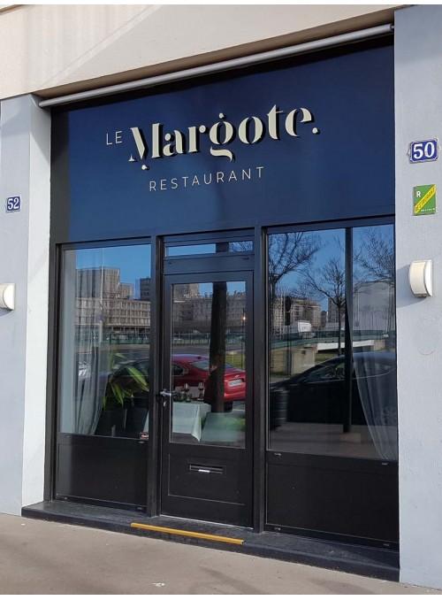 LE MARGOTE - enseigne de restaurant