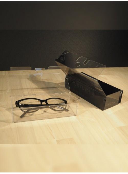 ETUI A LUNETTES - transparent et design