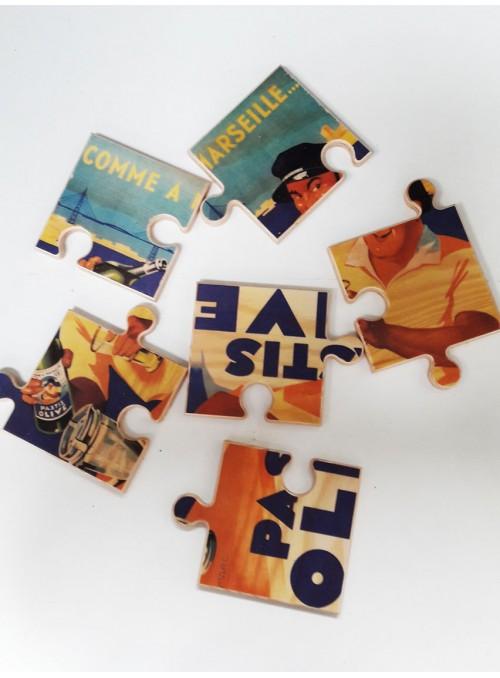 PUZZLE - personnalisable et disponible sur différents types de matériaux